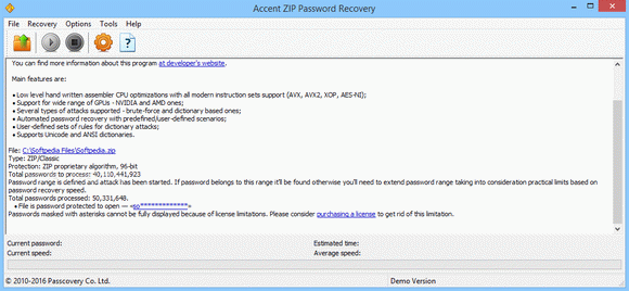 Accent ZIP Password Recovery кряк лекарство crack