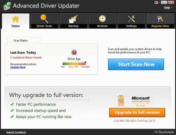 Advanced Driver Updater кряк лекарство crack