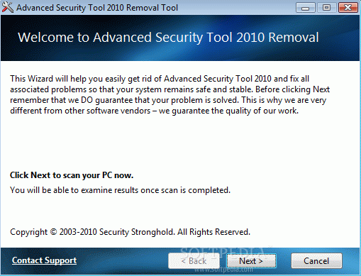 Advanced Security Tool 2010 Removal Tool кряк лекарство crack