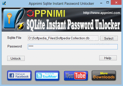 Appnimi Sqlite Instant Password Unlocker кряк лекарство crack