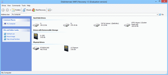 DiskInternals VMFS Recovery кряк лекарство crack