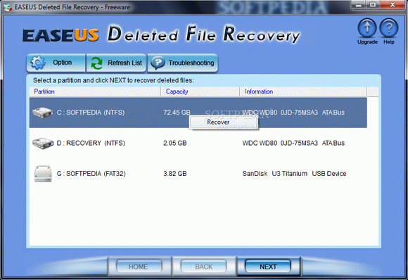 EASEUS Deleted File Recovery кряк лекарство crack