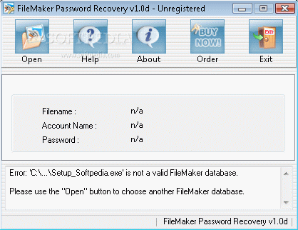 FileMaker Password Recovery кряк лекарство crack