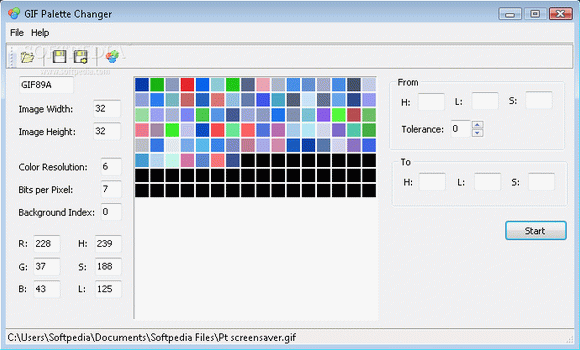 GIF Palette Changer кряк лекарство crack