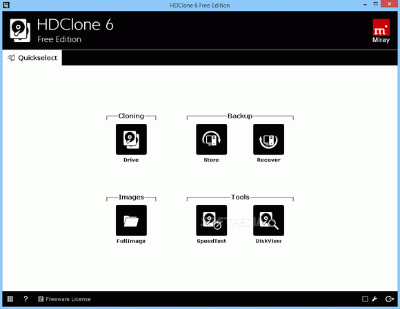 HDClone Free Edition