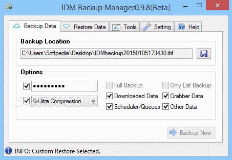 IDM Backup Manager кряк лекарство crack