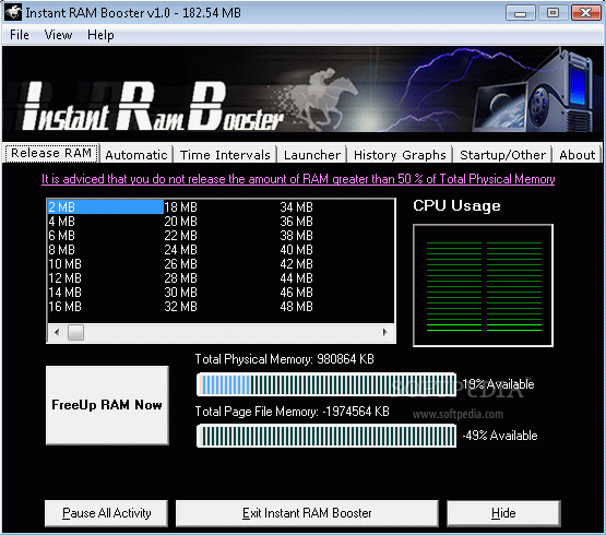 Instant RAM Booster кряк лекарство crack