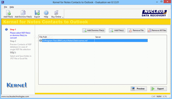 Kernel for Notes Contacts to Outlook кряк лекарство crack
