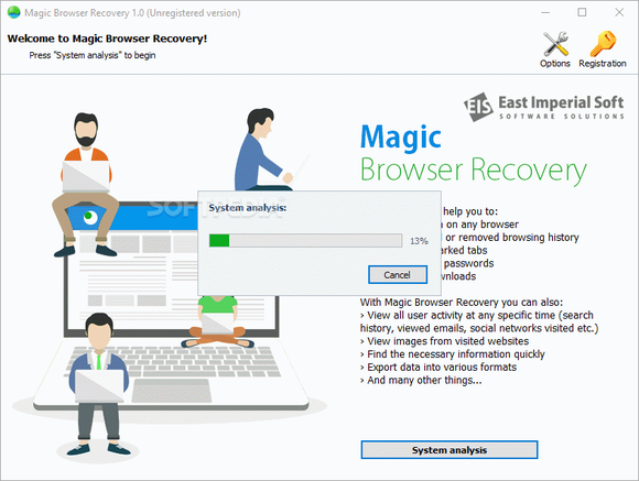 Magic Browser Recovery кряк лекарство crack