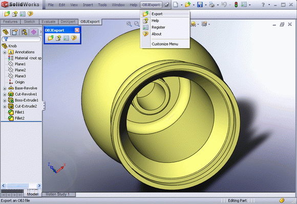 OBJ Export for SolidWorks кряк лекарство crack