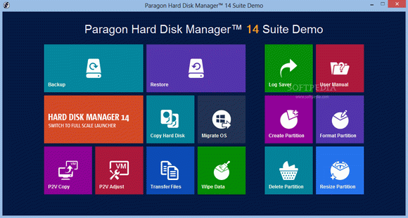 Paragon Hard Disk Manager 15 Suite кряк лекарство crack