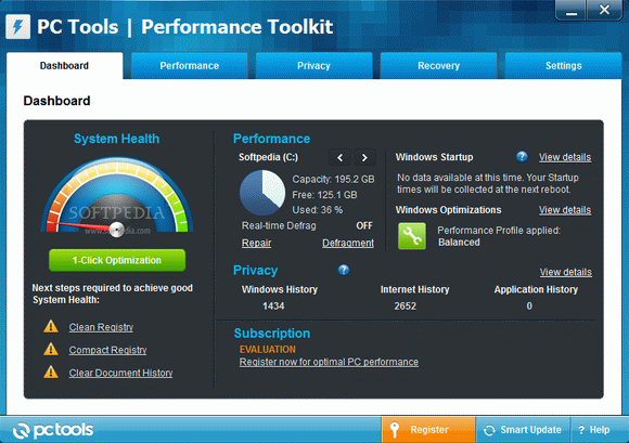 PC Tools Performance Toolkit кряк лекарство crack