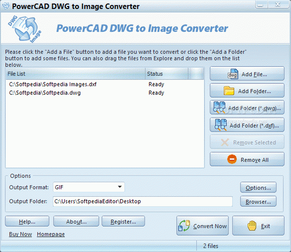 PowerCAD DWG to Image Converter