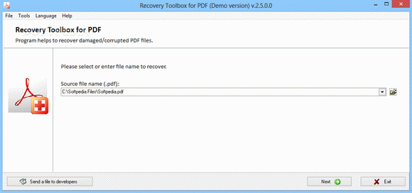 Recovery Toolbox for PDF кряк лекарство crack