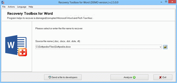 Recovery Toolbox for Word кряк лекарство crack