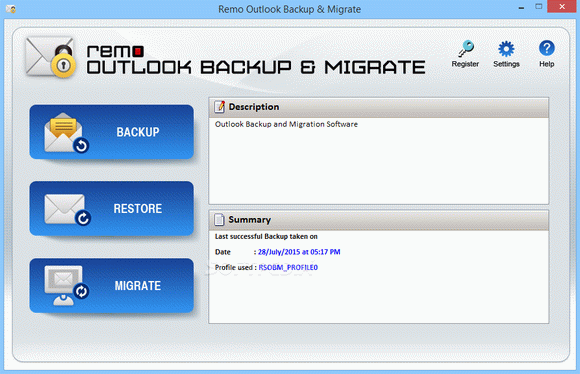 REMO Outlook Backup & Migrate кряк лекарство crack