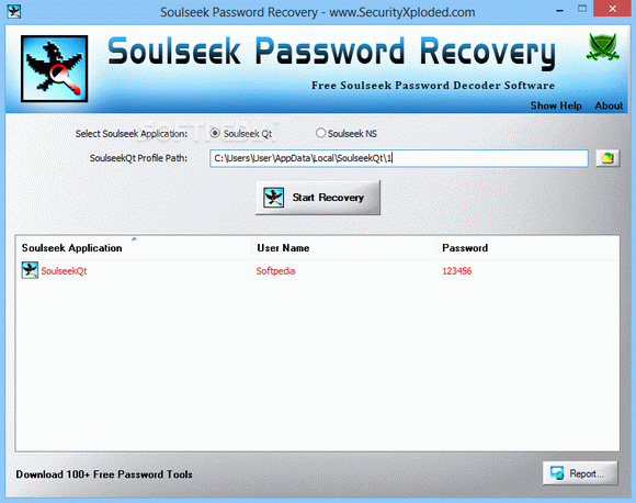Soulseek Password Recovery кряк лекарство crack