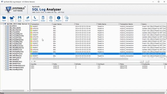 SysTools SQL Log Analyzer кряк лекарство crack