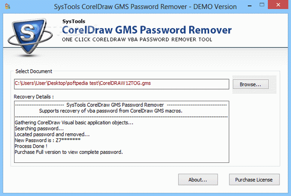SysTools CorelDraw GMS Password Remover кряк лекарство crack