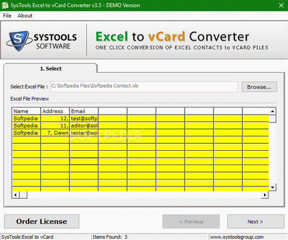 SysTools Excel to vCard Converter кряк лекарство crack