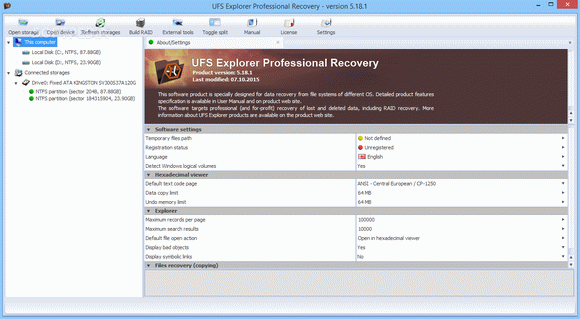UFS Explorer Professional Recovery кряк лекарство crack