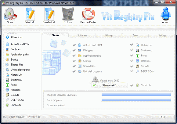 Vit Registry Fix Free Edition кряк лекарство crack